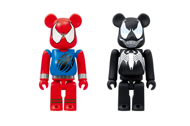 "Image of Marvel x Medicom Toy Bearbrick ""Happy Lottery"" Collection"