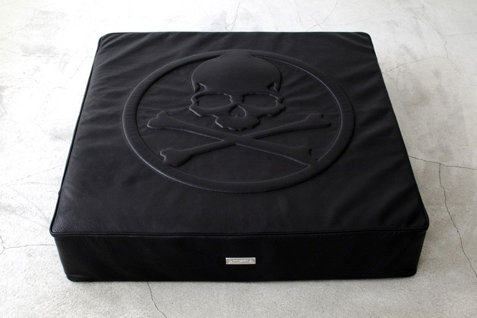 Image of mastermind JAPAN x BUILDING Leather Floor Cushion 