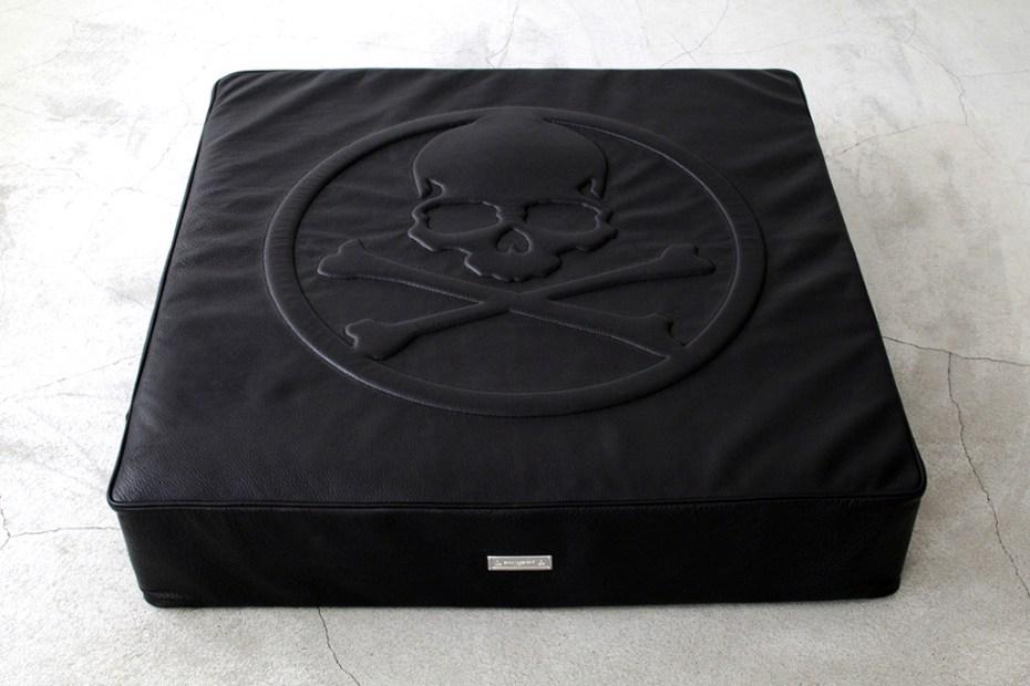 Image of mastermind JAPAN x BUILDING Leather Floor Cushion