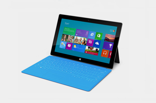 "Image of Microsoft Introduces New ""Surface"" Tablet"
