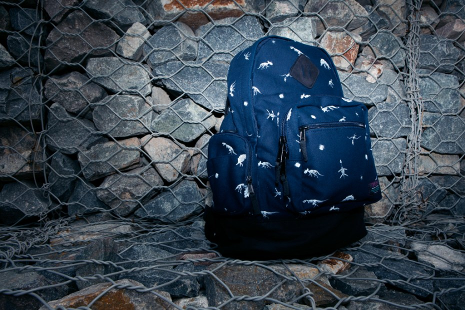 "Image of Mishka ""The Jurassic Knapsack"" Backpack in Dark Navy"