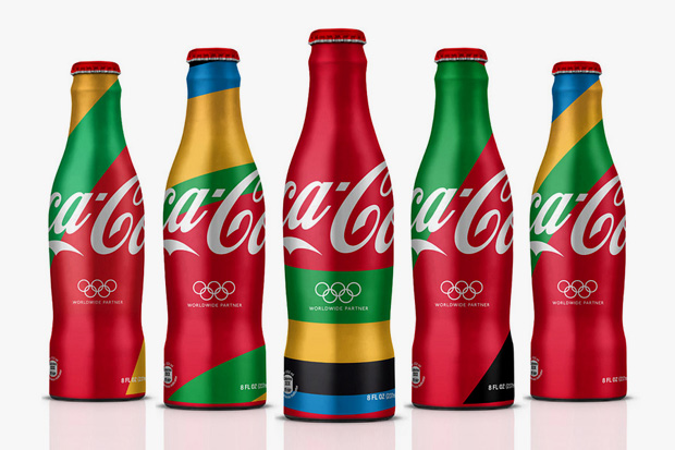 Image of MWM Graphics x ATTIK 2012 London Olympics Coca-Cola Branding