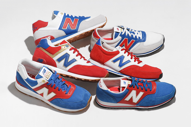 "Image of New Balance 2012 Summer ""Union Jack"" Collection"
