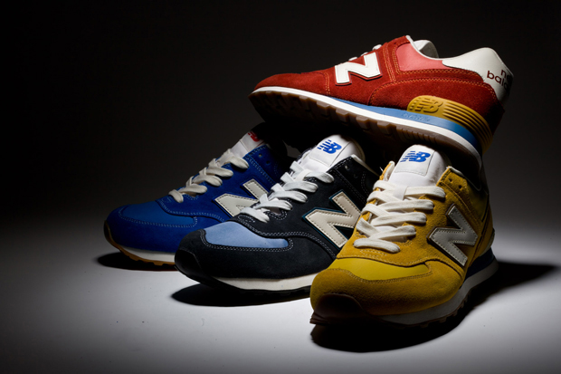 "Image of New Balance 2013 Spring/Summer 574 ""Vintage"" Pack"