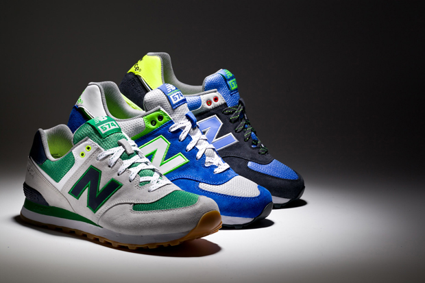 "Image of New Balance 2013 Spring/Summer ""Yacht Club"" 574 Pack"