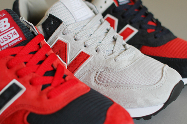"Image of Concepts x New Balance 574 ""Fourth of July"" Pack"