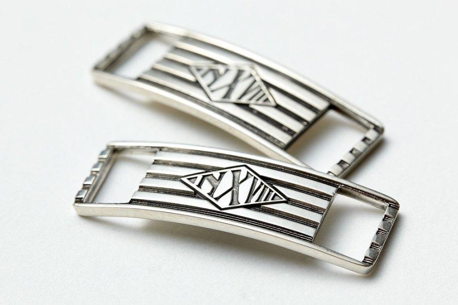 Image of NEXUSVII x Kubizm Silver Lace Plates