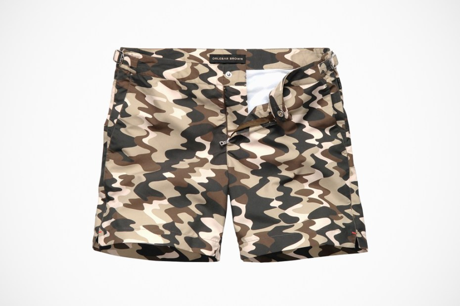 Image of Nick Wooster x Orlebar Brown Swim Trunk Collection