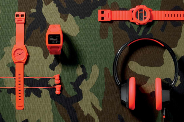 "Image of Nixon 2012 Spring/Summer ""Orange Bang"" Collection"