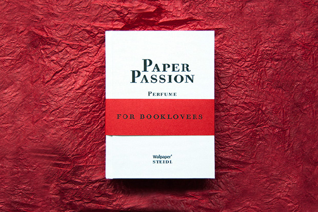 Image of Paper Passion Perfume by Geza Schoen, Gerhard Steidl and Wallpaper* Magazine, with Packaging by Karl Lagerfeld
