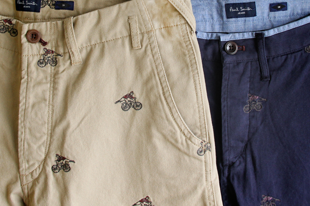 Image of Paul Smith 2012 Spring/Summer Embroidered Cyclist Motif