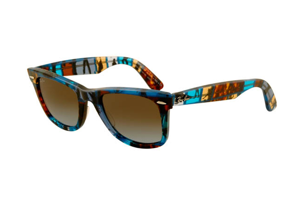 "Image of Ray-Ban 2012 Summer Wayfarer ""Blocks"""