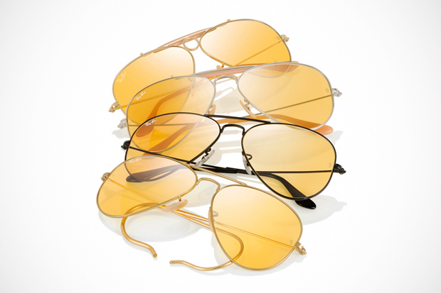 "Image of Ray-Ban 75th Anniversary ""Ambermatic"" Collection"
