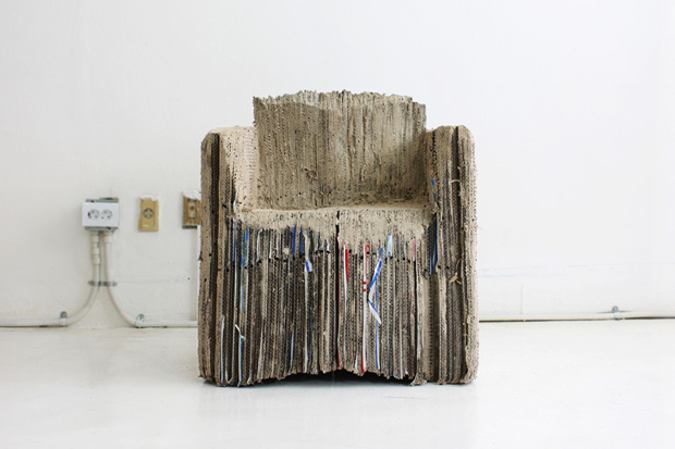 Image of Reborn Cardboard Sofa by monocomplex design studio