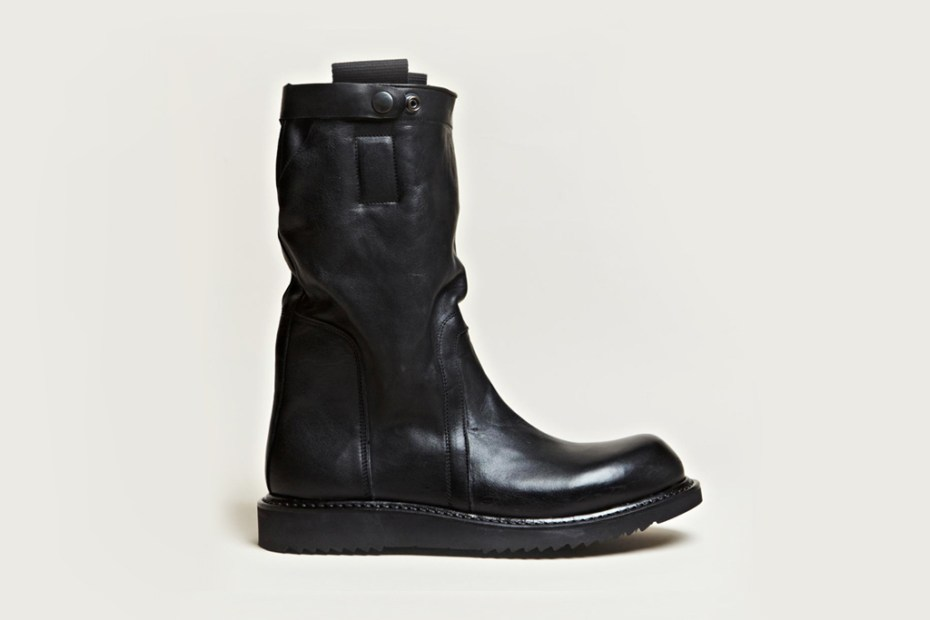 Image of Rick Owens Pull On Biker Boots