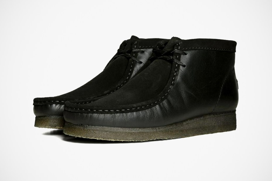 Image of Rocky Mountain Featherbed x Clarks Originals Wallabee Black
