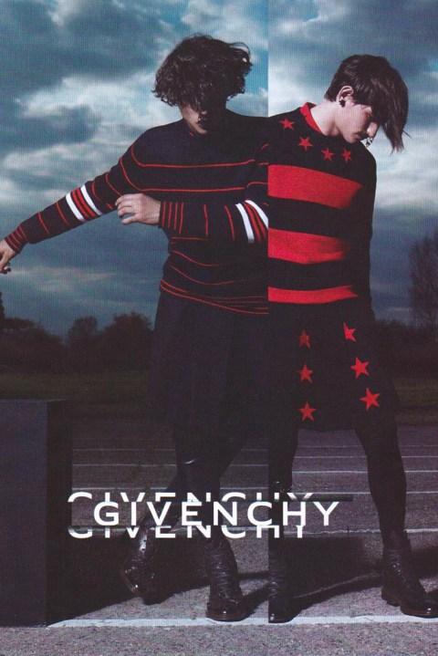 Image of Givenchy Ad Campaign with Rodrigo Braga & Simone Nobili