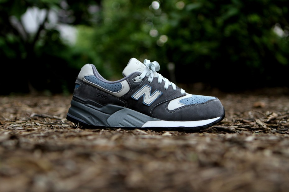 "Image of Ronnie Fieg x New Balance 999 ""Steel Blue"" Capsule Collection"