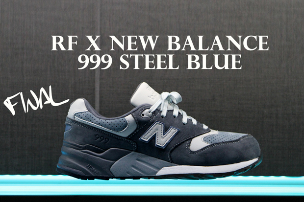 Image of Ronnie Fieg x New Balance 999 &quot;Steel Blue&quot; Sample Process