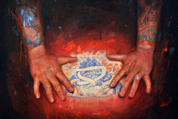 "Image of Shawn Barber ""Memoir: The Tattooed Portraits Series"" Exhibition @ Joshua Liner Gallery Preview"