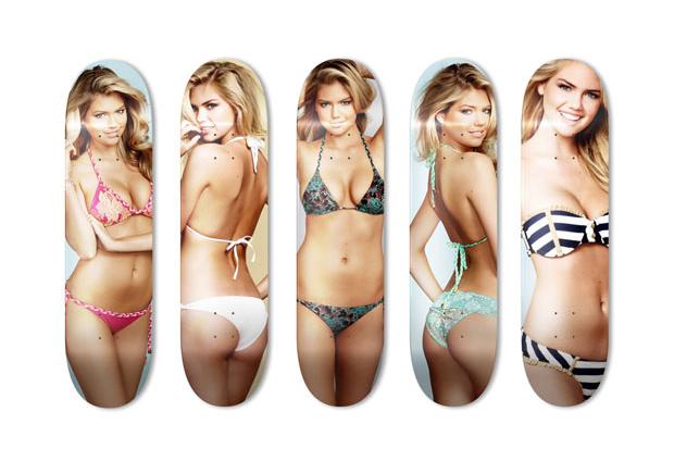 Image of Skate Upton Art Skate Decks