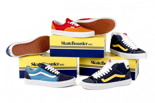 Image of Skateboarder Magazine x Vans 2012 Collection