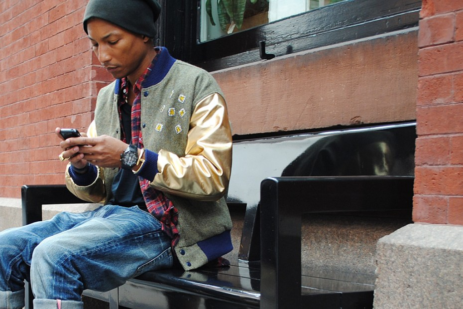 Image of Streetsnaps: Pharrell
