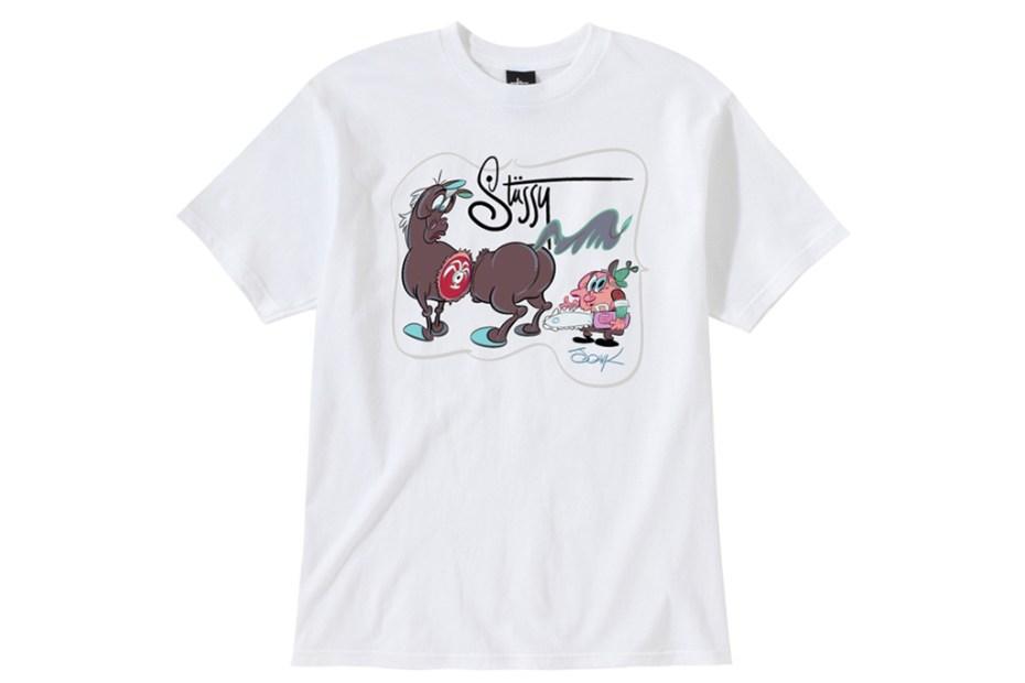 Image of John K. x Stussy Guest Artist Series T-Shirts