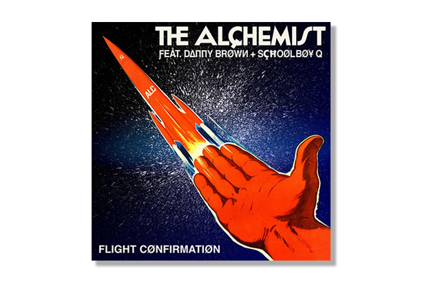 Image of The Alchemist featuring Danny Brown & ScHoolboy Q - Flight Confirmation