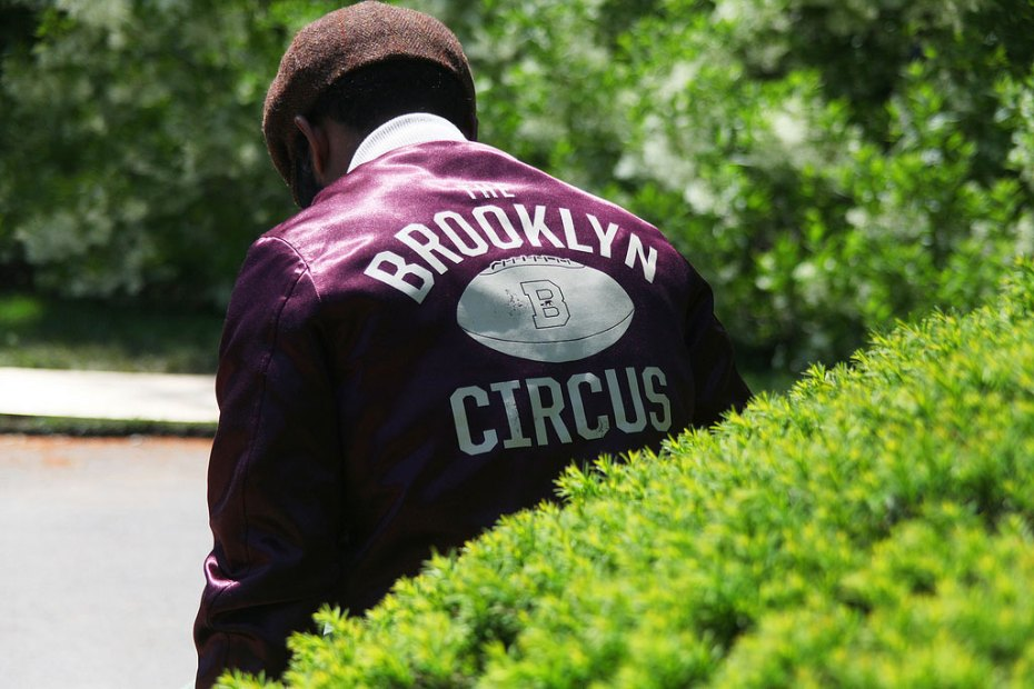 Image of The Brooklyn Circus Special Edition Satin Training Jacket