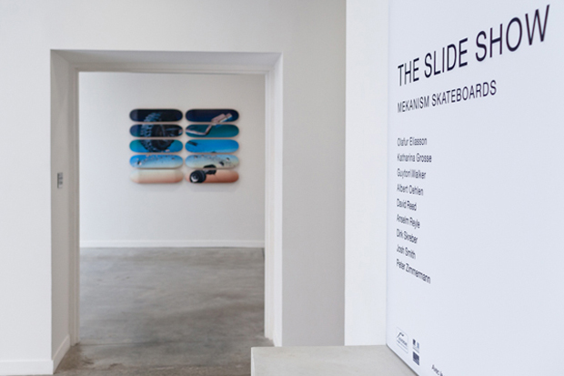 "Image of ""The Slide Show"" Mekanism Retrospective Exhibition @ FRAC"