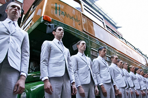 Image of Thom Browne 2013 Spring/Summer Collection London Presentation