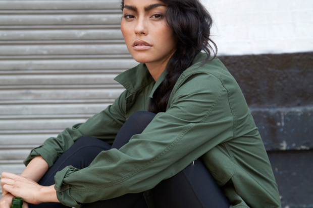 Image of UNIS 2012 Spring/Summer Charlie Jacket featuring Adrianne Ho