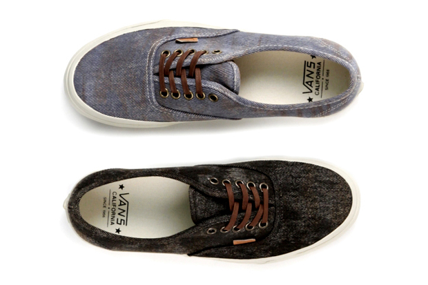 "Image of Vans California 2012 Spring/Summer ""Stained"" Authentic CA"
