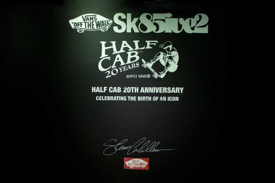 Image of Vans Sk85ive2 Half Cab 20th Anniversary Recap