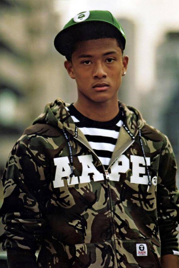 Image of WARP: AAPE By A Bathing Ape 2012 Spring/Summer Collection Editorial