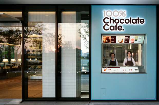 Image of 100% Chocolate Cafe by Wonderwall
