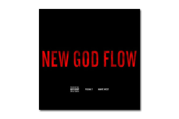 Image of Pusha T featuring Kanye West - New God Flow