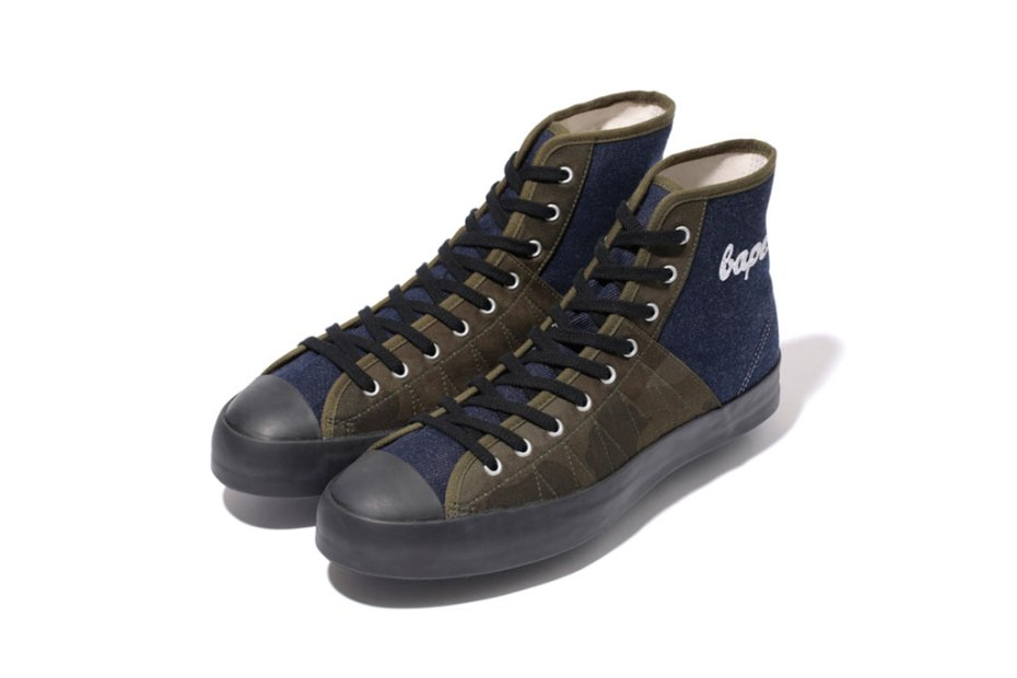 Image of A Bathing Ape 2012 DENIM CLIMBING APE STA