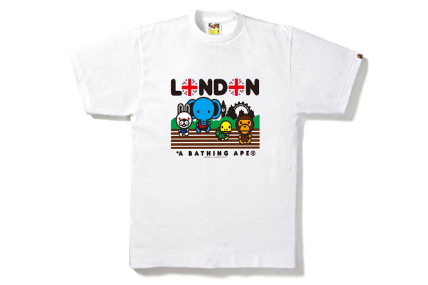 Image of A Bathing Ape 2012 London Olympics T-Shirt Collection