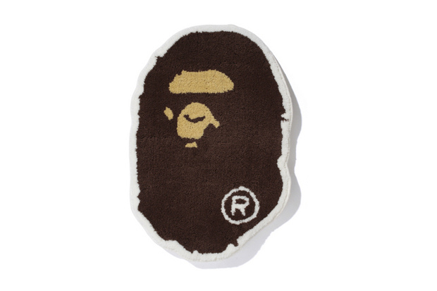 "Image of A Bathing Ape ""BAPE FACE RUG"""