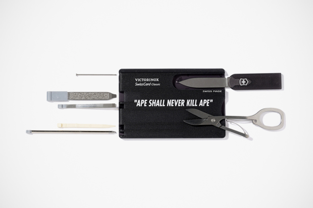 Image of A Bathing Ape x Victorinox Card Multi-Tool Set