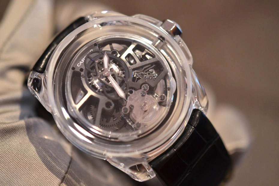 Image of A Behind-the-Scenes Look at the Cartier ID Two Concept Watch