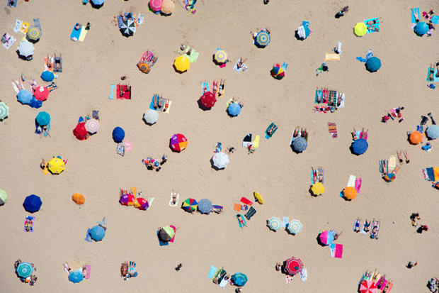 Image of A La Plage by Gray Malin