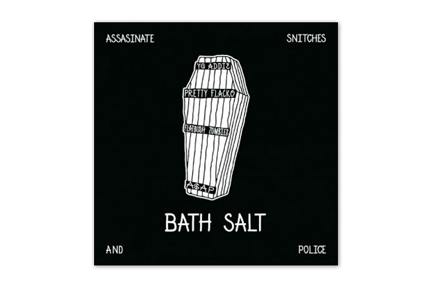 Image of A$AP Rocky &amp; A$AP MOB featuring Flatbush Zombies  Bath Salt