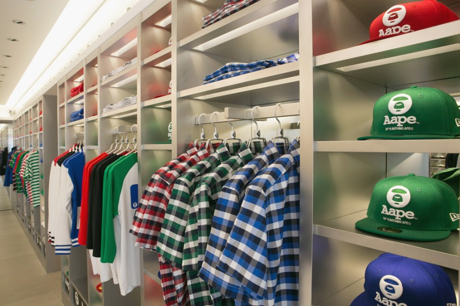 Image of AAPE by A Bathing Ape Harajuku Store Opening Recap