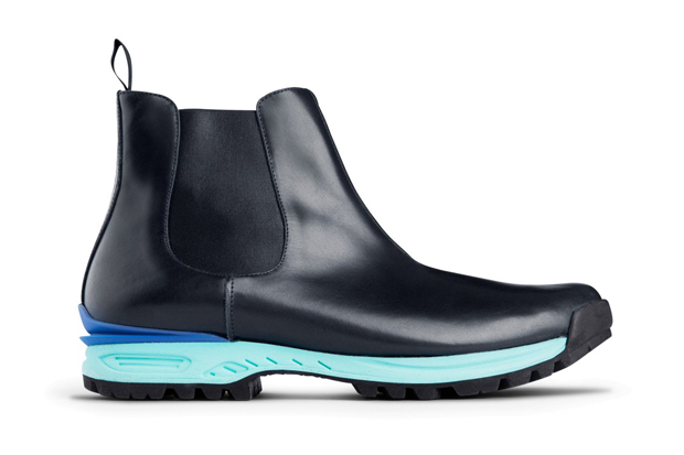Image of Acne Dark Blue Musil Boots