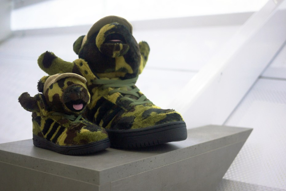 Image of Bread & Butter: adidas Originals by Jeremy Scott 2013 Spring/Summer JS Bear Preview