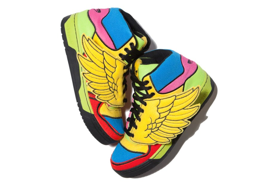 "Image of adidas Originals by Jeremy Scott JS Wings ""Fleece"""