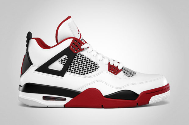 "Image of Air Jordan 4  ""Fire Red"" Retro"